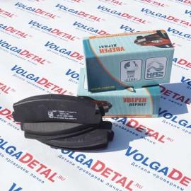 Колодка переднего тормоза Lux 21210-3501090-00 (в кор.20к-т) КА-2