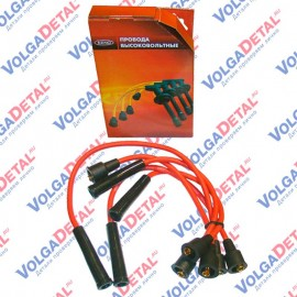 Высоковольтные провода SILICONE с наконечниками к-т (ЗМЗ-402.10) 402.3707244-255 KENO