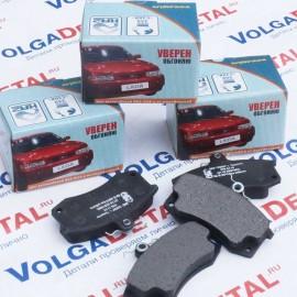 Колодка переднего тормоза 21100-3501080-00 (в кор.20к-т) КА-2