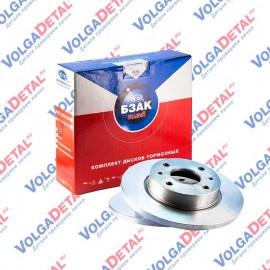 Комплект дисков тормозных ВАЗ-2108-2109  R13  (2 шт.)  БЗАК