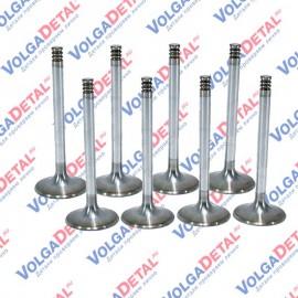 Комплект клапанов (впуск+выпуск) ВАЗ-21080 СТК