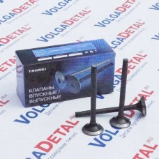 Клапана впускные ВАЗ-2101-2107, 2121 ТKV.1007010-11 (в упак. 4 шт.) TANAKI