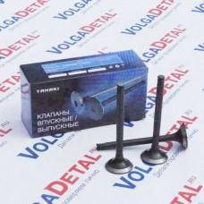 Клапана выпускные ВАЗ-2101-2107, 2121 ТKV.1007012-11 (в упак. 4 шт.) TANAKI
