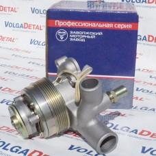 Насос водяной с прокладкой (для дв. ЗМЗ, V8; для авт. ГАЗ-53; с вязкостной муфтой) 5231.1307004 ЗМЗ