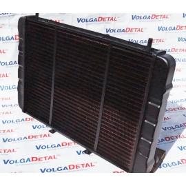 Радиатор охлаждения медный 2-ряд. н/о ГАЗель 3302-1301010  ИРАН