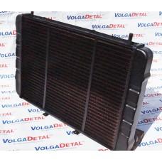 Радиатор охлаждения медный 3-ряд. н/о ГАЗель 3302-1301010 ИРАН